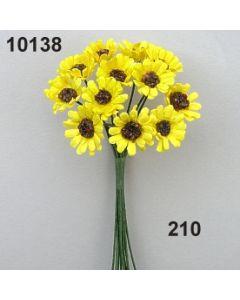 Papier Sonnenblume mini / goldgelb / 10138.210