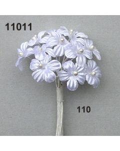 Satinblüte / weiß / 11011.110