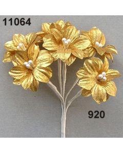 Brokat-Sternblüte / gold / 11064.920