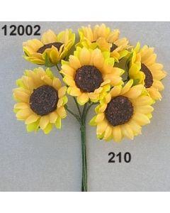 Sonnenblume / goldgelb / 12002.210