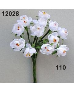 Erdbeerblüten-Knospe  / weiß / 12028.110