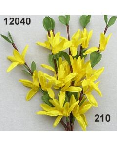 Forsythie x4 / goldgelb / 12040.210