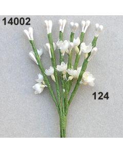 Blüten-Perl-Rispe x6 / champagner / 14002.124