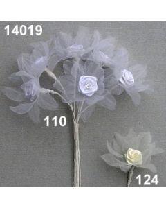Organdyblüte mit Diorrose / 14019