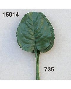 Veilchenlaub mittel / dunkelgrün / 15014.735