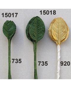 Rosenlaub klein / dunkelgrün / 15017.735