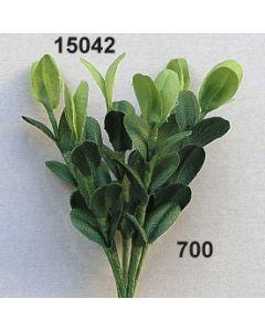 Seidenbuchs handgewickelt / grün / 15042.700