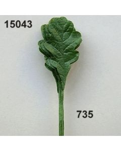 Eichenlaub klein / dunkelgrün / 15043.735