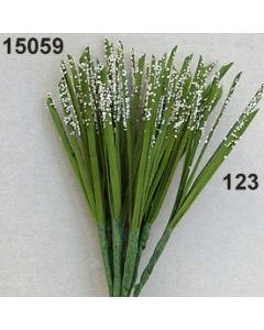 Grashalme x5 mit Samen / creme / 15059.123