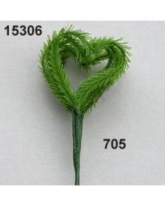Gras-Herz asymmetrisch / 15306