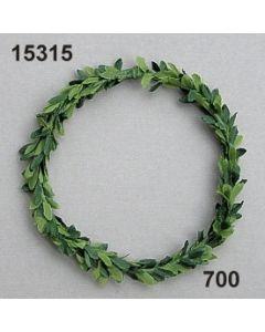 Seidenbuchs mini Ring / grün / 15315.700
