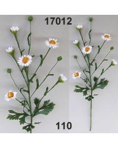 Kamillenblüten Zweig x6 / weiß / 17012.110