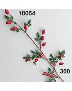 Hagebutten Zweig lang / rot / 18054.300