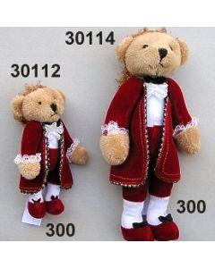 Mozartbär groß / rot / 30114.300