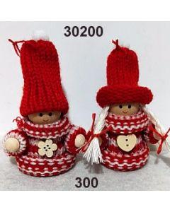 Woll-Pärchen / rot / 30200.300
