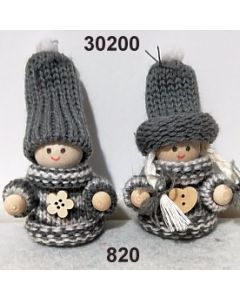 Woll-Pärchen / grau / 30200.820