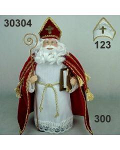 Nikolaus stehend / ca 30cm / 30304