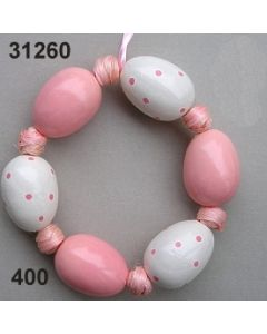 Osterei Kranz / rosa / 31260.400