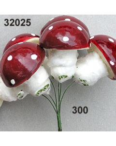 Fliegenpilz XL / rot / 32025.300