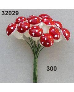 Fliegenpilz mittel / rot / 32029.300