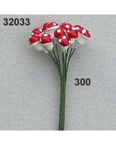 Fliegenpilz klein / rot / 32033.300