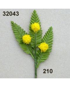 Mimosen-Pick x3 / goldgelb / 32043.210