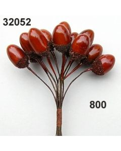 Eicheln klein / braun / 32052.800