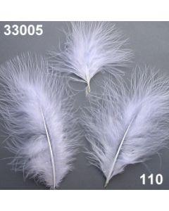 Dekofedern / weiß / 33005.110