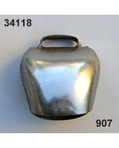 Kuhglocke Metall / altsilber / 34118.907