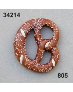 Keramik Brezel / hellbraun / 34214.805