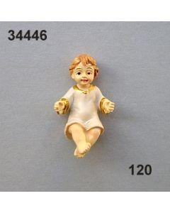 Jesuskind mini handbemalt / beige / 34446.120