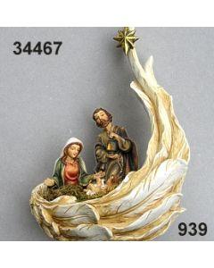 Heilige Familie im Flügel groß / bunt / 34467.939