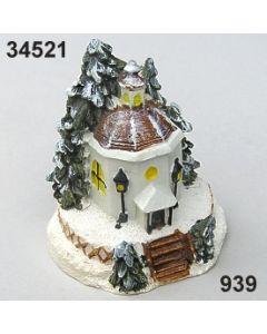 Stille Nacht Kapelle bemalt / bunt / 34521.939