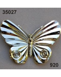 Acryl Schmetterling groß / gold / 35027.920