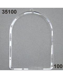 Acryl-Rahmen / glasklar / 35100.100
