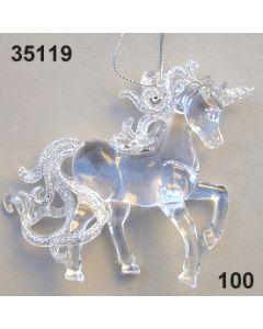 Acryl Einhorn /glaskar / 35119.100