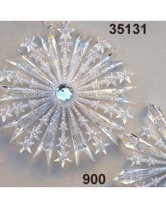 Glimmer Schneeflocke / silber / 35131.900