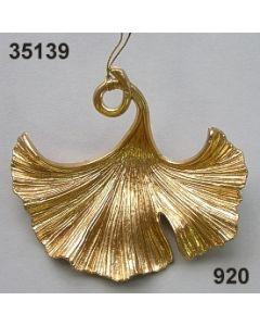 Goldglimmer Ginkoblatt / gold / 35139.920