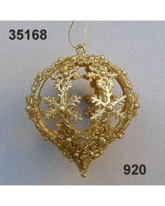 Goldglimmer Ornament Ballon / gold / 35168.920