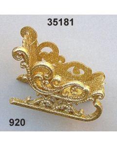 Goldglimmer-Schlitten / gold / 35181.920