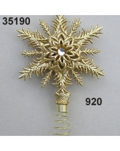 Goldglimmer Christbaumspitze / gold / 35190.920