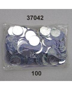Spiegerl rund ⌀ 20mm / glasklar / 37042.100