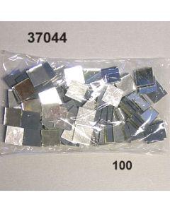 Spiegerl quadrat10x10mm / glasklar / 37044.100