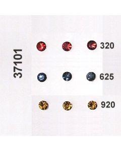 Glasstein geschliffen ⌀6mm / 37101