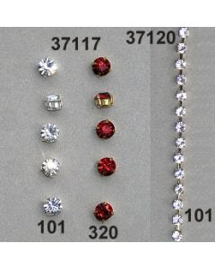 Kesselkette 4mm / kristall / 37120.101
