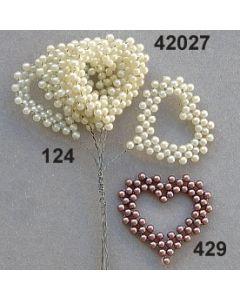 Perlreihen Herz / 42027