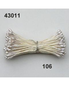 Bötzl 2-3mm Papierstiel / perlmutt / 43011.106