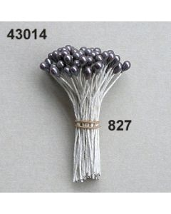 Bötzl am Draht 4mm / graubrau / 43014.827