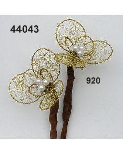 Bouillonblume 3Teil.gr / gold / 44043.920