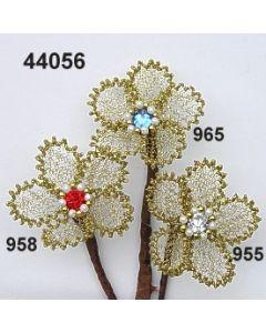 Bouillon-Blume mit Stein / 44056